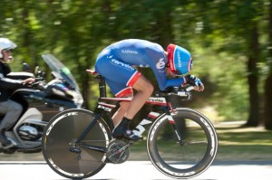 Dave Zabriskie- An example of a very aggressive TT Position.